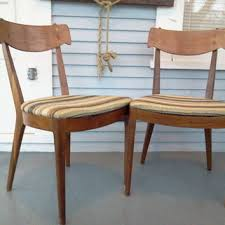 sale two vintage wood kitchen chair dining chair wood chair