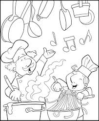 coloring pages of kitchen things kitchen coloring pages general fire safety kitchen coloring pages