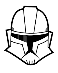 10 images of star wars clone trooper helmet coloring pages star