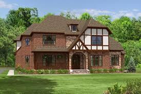 4 bedroom 4 bath tudor house plan alp 027r allplans com