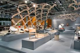 stockholm furniture fair scandinavian design färg blanche create a large wood structure to promote scandinavian
