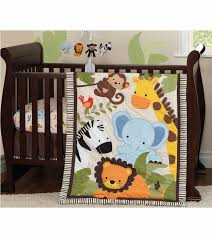 Crib Bedding Jungle Originals Jungle Buddies 3 Crib Bedding Set