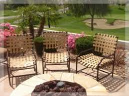 Restrapping Patio Chairs Re Strapping Patio Furniture Patiofurniture Doctors