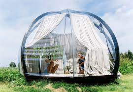 see through dome lets you immerse yourself in nature and sleep