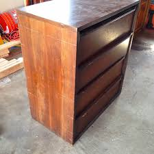 Fix Scratches In Wood Furniture by Midcentury Dresser Re Do Without Sanding Or Staining