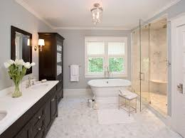 bright bathroom interior with clean easy to clean bathroom remodel at home and interior design ideas