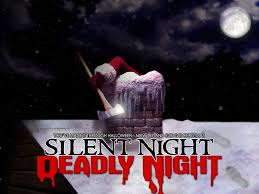 christmas and halloween background krampus is coming see these other christmas fright films vh1