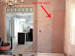 Closet Door Hinges by Hazardous Design Week 8 Kitchen Reno Hidden Closet