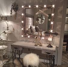 innovative bedroom vanity with lights and glass bedroom vanity