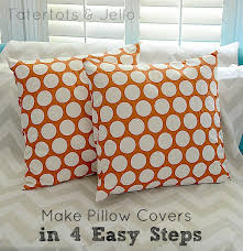 How To Make Sofa Pillow Covers Make Envelope Pillow Covers In 4 Easy Steps