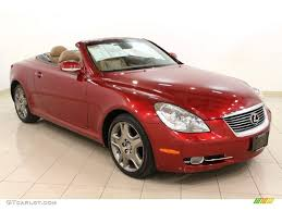 red lexus car picker red lexus sc