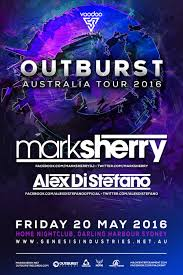 tickets for mark sherry pres outburst sydney in darling harbour