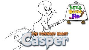 Draw Halloween Let U0027s Draw Casper The Friendly Ghost Drawing Halloween