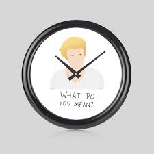 justin bieber what do you mean round wall clock bedroom kitchen round wall clock bedroom kitchen home new