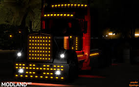 kenworth t680 parts list extra bumpers and parts for kenworth w900 v 1 1 mod for american