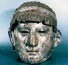 silver mask stolen ancient thracian silver mask helmet returned to