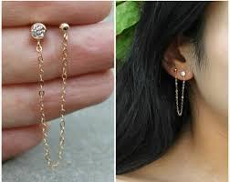 connecting earrings connecting earrings etsy
