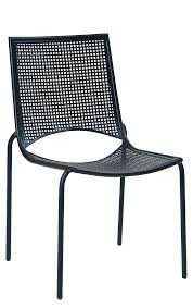 Mesh Patio Table by Wrought Iron Mesh Back Chair Black At Home Patio Furniture