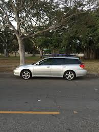 2005 subaru legacy gt station wagon 5spd silver black makiki i club