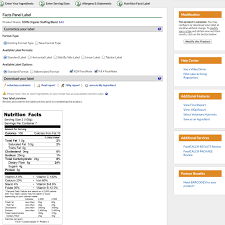 nutrition label creator nutrition daily