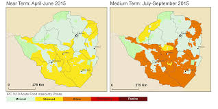 Map The Meal Gap Zimbabwe Food Security Outlook Thu 2015 04 30 To Wed 2015 09