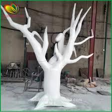 factory supply artificial tree trunk no leaves fiberglass