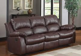 Leather Reclining Sofas Sofas Decoration - Ricardo leather reclining sofa