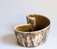 ikebana vases yamasan japan modernist ikebana vases c20ceramics