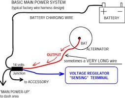 wiring diagram chevrolet one wire alternator wiring diagram how