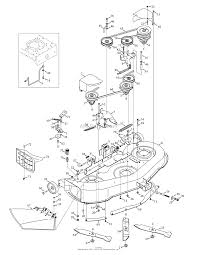 troy bilt 13bx60kh011 super bronco 2009 parts diagram for mowing