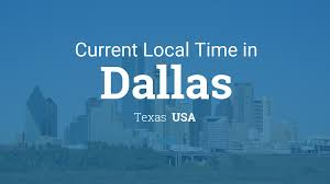 Dallas On Map by Current Local Time In Dallas Texas Usa