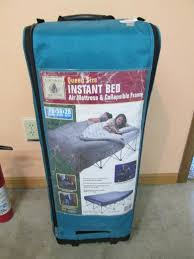 Instant Bed Northwest Territory Queen Size Instant Bed Air Mattress And