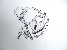 7 lock and key tattoo designs and ideas
