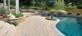 Landscaping Around A Pool by 5 Techo Bloc Pavers For Landscaping Around A Deck Or Patio Techo
