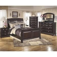 ridgley 5 pc bedroom dresser mirror u0026 queen sleigh bed