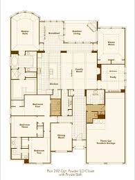 homes floor plans new home plan 292 in prosper tx 75078