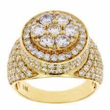 gold diamond rings diamond johnny s diamond yellow gold diamond ring for men