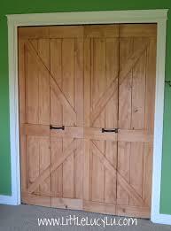 Closet Doors Barn Style Barn Style Bifold Closet Doors Http Bukuweb Net Pinterest