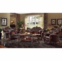Butterscotch Leather Sofa Victorian Inspired Formal Living Room Sets