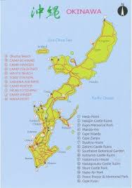 Map Of Okinawa August 2015 U2013 First Came Blue