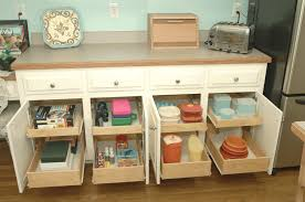 kitchen cabinets slide out shelves simple smooth white countertop