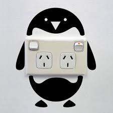 aliexpress com buy new arrival cute funny penguin switch sticker
