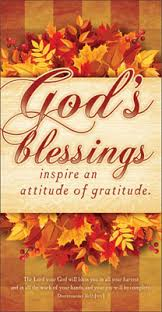 thanksgiving offering envelope god s blessings
