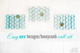 easy diy indoor outdoor honeycomb wall artdiy show off u2013 diy