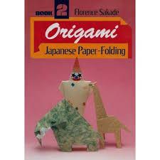 Book Paper Folding - origami japanese paper folding book 2 s crane