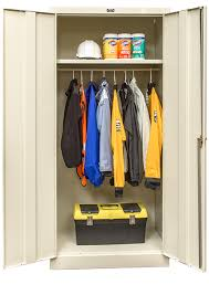 Wardrobe Cabinets Metal Cabinets By Hallowell 800 Series Heavy Gauge Kd Cabinets
