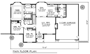 free house plans with basements stylist inspiration ranch home design plans free 3 bedroom house