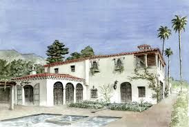 santa barbara style home plans santa barbara style house plans house and home design