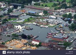 stourport marina in the west midlands england stock photo royalty