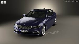 luxury bmw 2017 360 view of bmw 5 series g30 luxury line 2017 3d model hum3d store